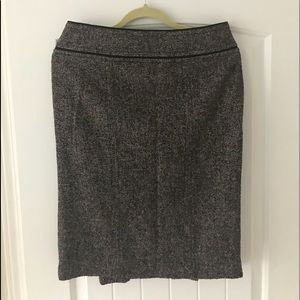 Adec tweed pencil skirt size 10 / 44